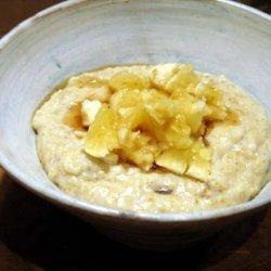 Porridge With Mashed Banana recipe