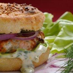 Salmon Burgers With Dill Tartar Sauce recipe