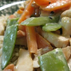 Chicken With Veggies in Sour Cream Sauce recipe