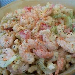 Creamy Shrimp Pasta Salad recipe
