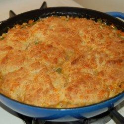 Turkey Pot Pie With Cheddar Biscuit Crust recipe