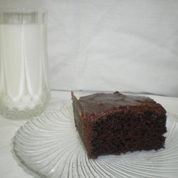 Evonne's Chocolate Cake With Fudge Frosting recipe