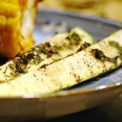 Grilled Zucchini I recipe