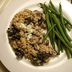 Gorgonzola and Wild Mushroom Risotto recipe