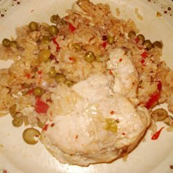 Chicken with Rice (Arroz con Pollo) recipe