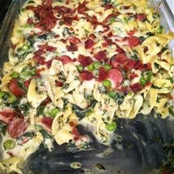Hot Dog Noodle Casserole recipe