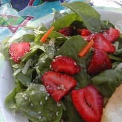 Strawberry Spinach Salad I recipe