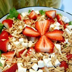 Strawberry and Feta Salad recipe