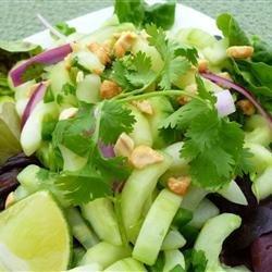 Thai Cucumber Salad recipe