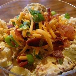 Cheesy Potato Salad recipe
