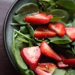 Strawberry Spinach Salad II recipe