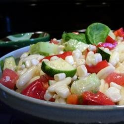P.J.'s Fresh Corn Salad recipe