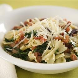 Spinach Basil Pasta Salad recipe