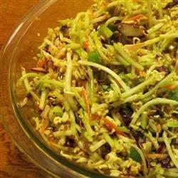 Chinese Broccoli Slaw recipe