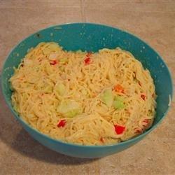 Angel Hair Pasta Salad recipe
