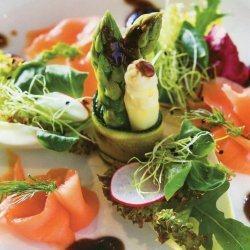 Asparagus and Smoked Salmon Salad recipe