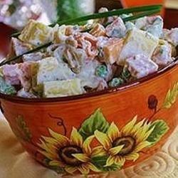 Spring Sweet Pea Pasta Salad recipe