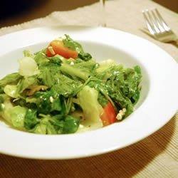 Greek Veggie Salad II recipe