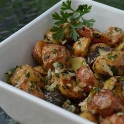 Roasted New Potato Salad With Olives recipe