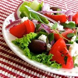 Greek Salad V recipe