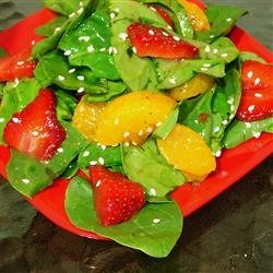 Strawberry Spinach Salad III recipe
