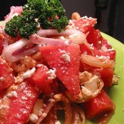 Awesome Summer Watermelon Salad recipe
