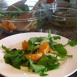 Arugula, Fennel, and Orange Salad recipe