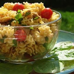 Sesame Chicken Pasta Salad recipe