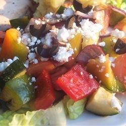 Sylvia's Easy Greek Salad recipe