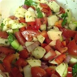 California Style Israeli Salad recipe