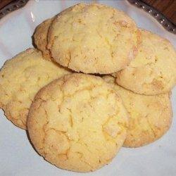 Crisp Little Lemon Cookies recipe
