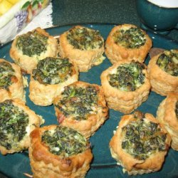 Cheese & Spinach Puff Pastry Pockets recipe