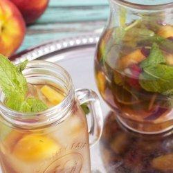 Peach and Mint Iced Tea recipe