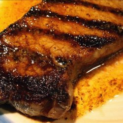 Rib Eyes With Chipotle Butter recipe