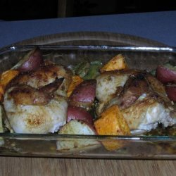 Roast Cornish Game Hens With Vegetables recipe