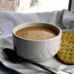 Amazingly  Easy Cream of Chicken Taco Meat Soup recipe