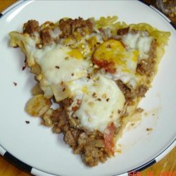 Macaroni and Cheese Pizza recipe