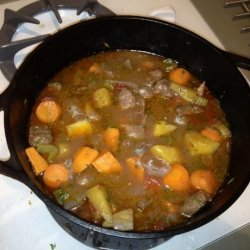 Easy Farmhouse Lamb Stew With Vegetables recipe