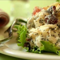 Chicken Salad  Sandwiches With Poppy Seed Dressing recipe
