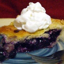 Blueberry Pie (10 inch) recipe
