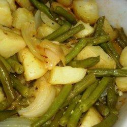 Potato and Green Beans Dijon recipe