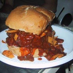 Thick Crock Pot Burger Chili recipe