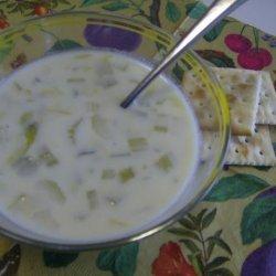 Celery Soup (Australia) recipe