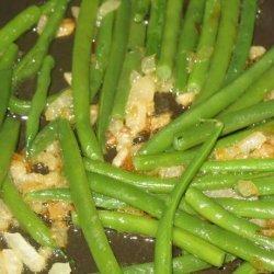 Shallot Sauteed Green Beans recipe
