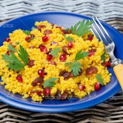 Curried Couscous Salad With Dried Cranberries recipe