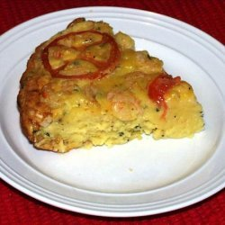 Shrimp and Tomato Quiche recipe