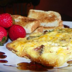 Savory Egg and Potato Frittata recipe