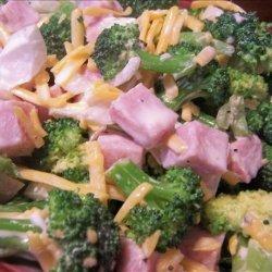 Broccoli Salad With Ham recipe