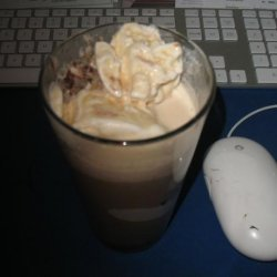 Coffee Punch with Ice Cream Floats recipe