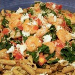 Pacific Northwest Prawn, Ricotta and Spinach Pasta recipe